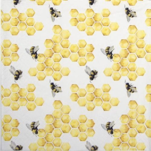 Lunch Napkins (20) - Honey Bees