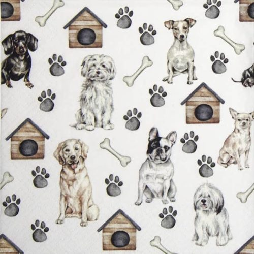 Lunch Napkins (20) - Pet Dogs