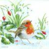 Lunch Napkins (20) - Robin