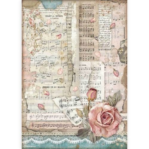 Rice Paper - Passion roses and music