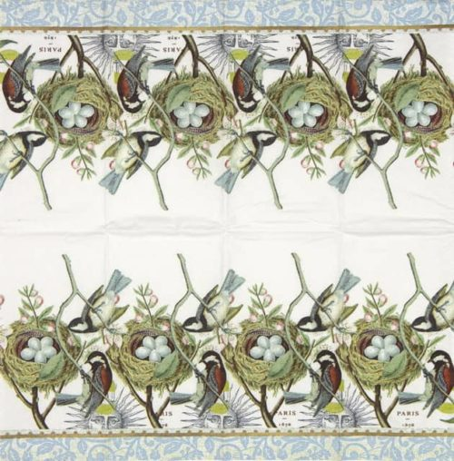 Handkerchiefs - Bird Nest