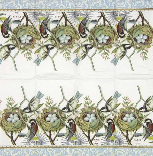 Handkerchiefs - Bird Nest