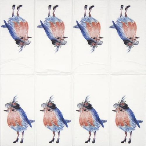 Handkerchiefs - Garden Party Bird