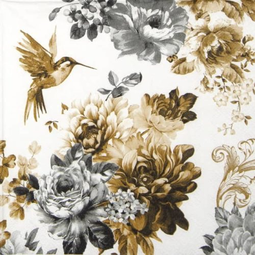 Lunch Napkins (20) - Gardenia