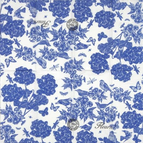 Handkerchiefs - Indigo Cotton