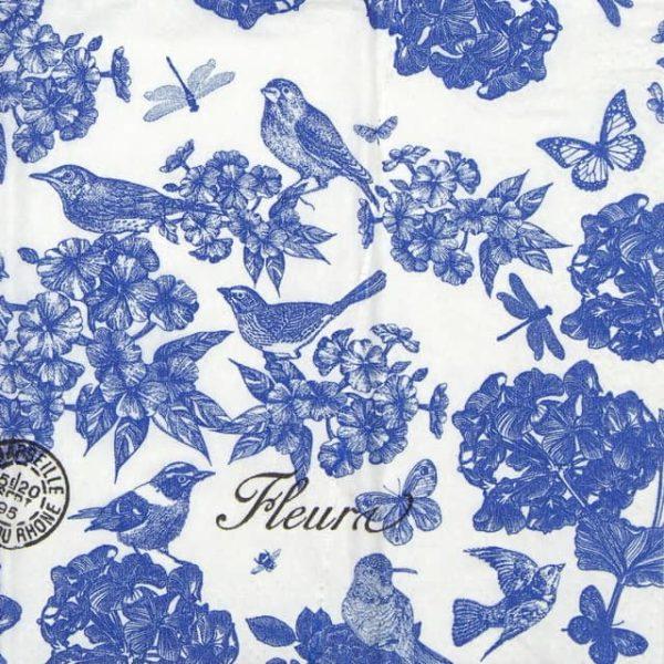 Handkerchiefs - Indigo Cotton
