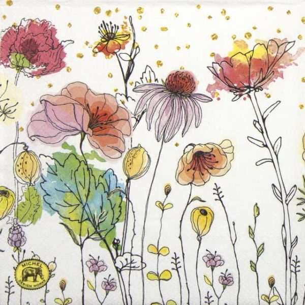 Lunch Napkins (20) - Posies