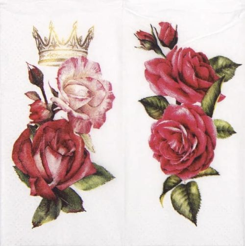 Handkerchiefs - Royal Rose