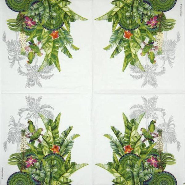 Cocktail Napkins (20) - Tatiana Design: Tropicale