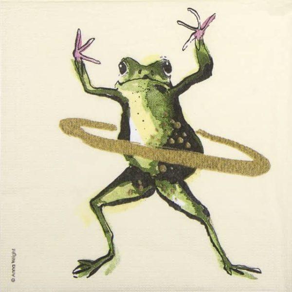 Paper Napkin - Anna Wright: Work it!