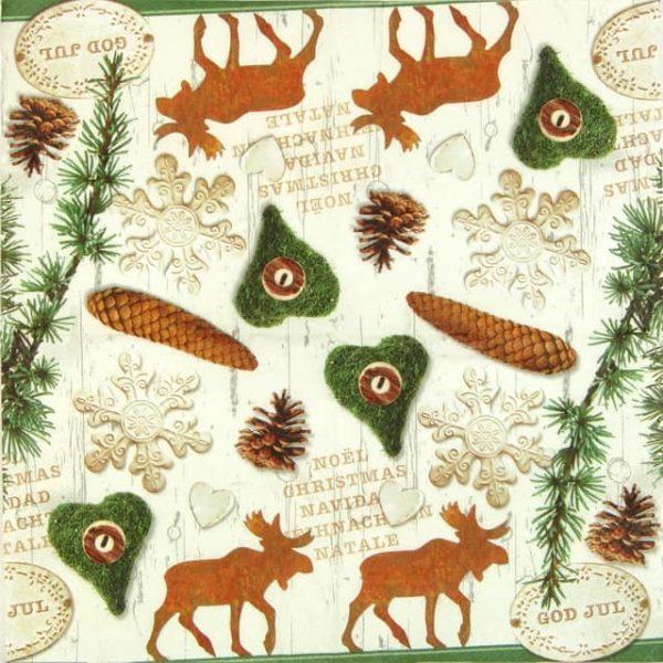 Paper Napkin - Nordic Christmas