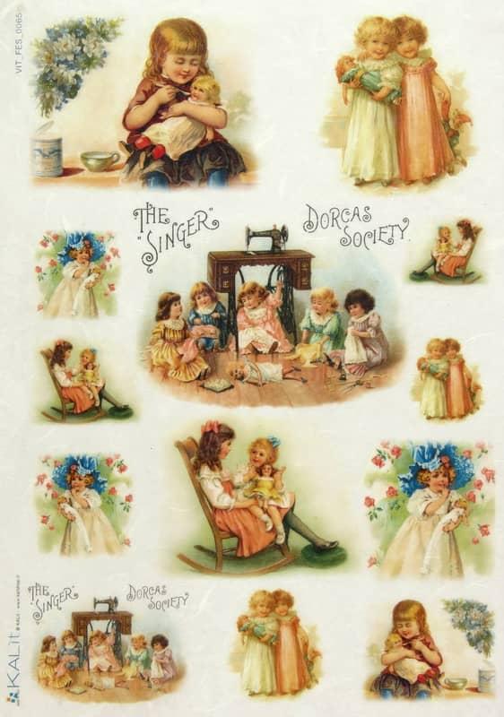 Rice Paper - Little Girls