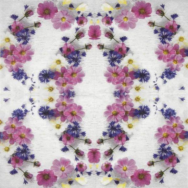 Cocktail Napkin - Summer florals