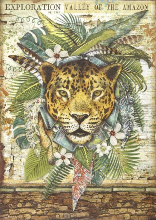 Rice Paper - Amazonia jaguar