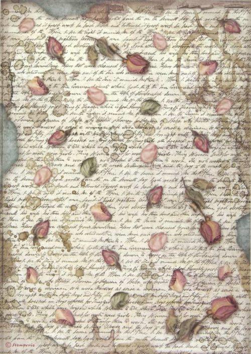 Rice Paper - Passion petals