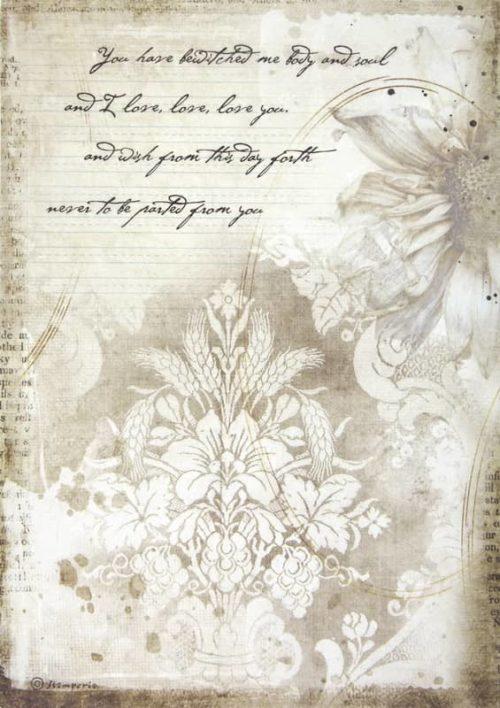 Rice Paper - Romantic Journal manuscrips