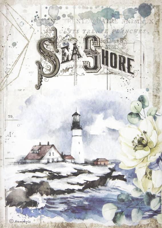 Rice Paper - Romantic Sea Dream Sea Shore