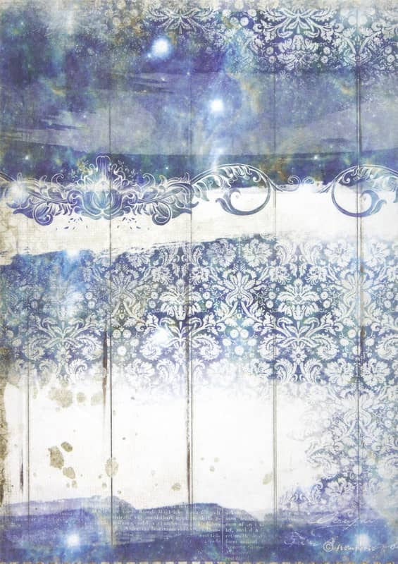 Rice Paper - Romantic Sea Dream texture