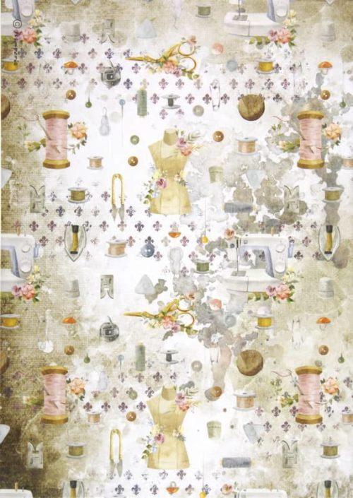 Rice Paper - Romantic Threads embellishment