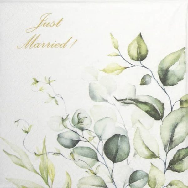Lunch Napkins (20) - Romantic Marriage