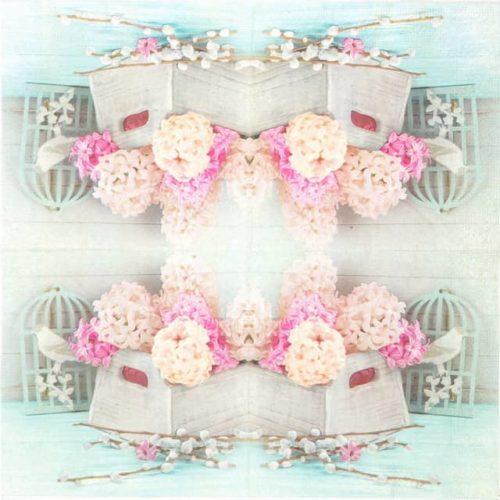 Paper Napkin - Garden Flowers