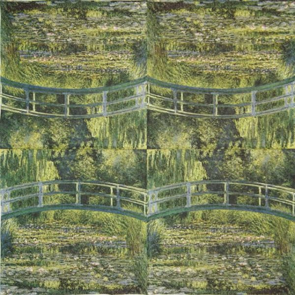 Paper Napkin - The Water Lily Pond