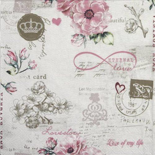 Paper Napkin - Eternal love