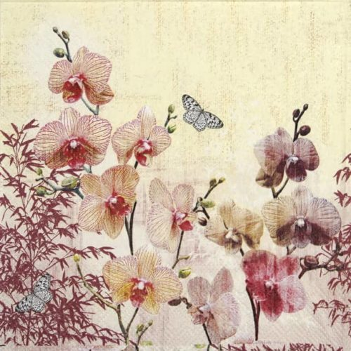 Lunch Napkins (20) - Orchid orient