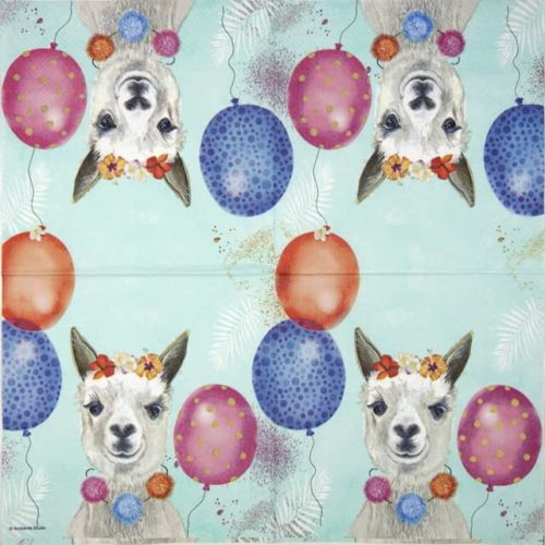 Lunch Napkins (20) - Party lama