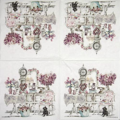 Lunch Napkins (20) - Roommates