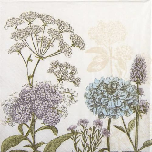 Paper Napkin - Botanica