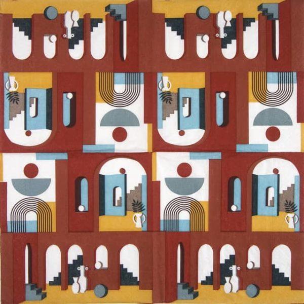 Lunch Napkins (20) - Illusion