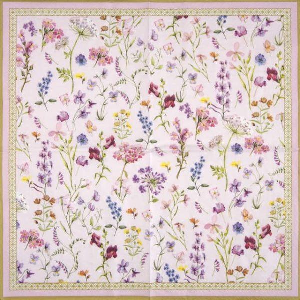 Lunch Napkins (20) - Symphonie Florale