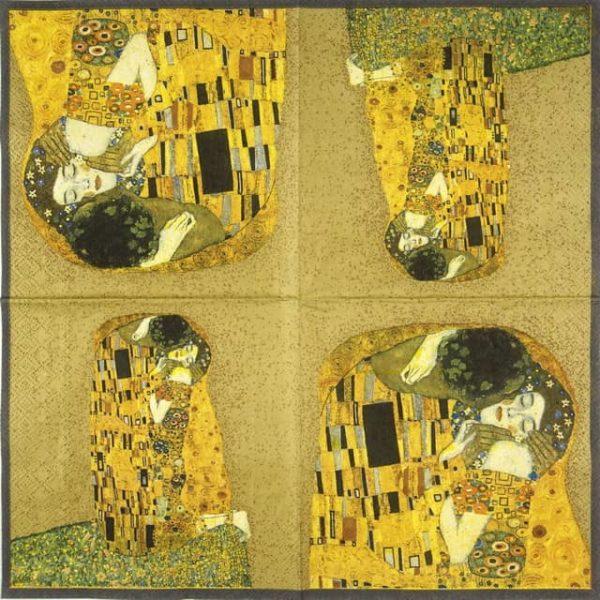 Paper Napkin - Klimt:The Kiss