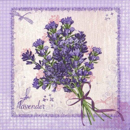 Paper Napkin - Bunch of Lavender