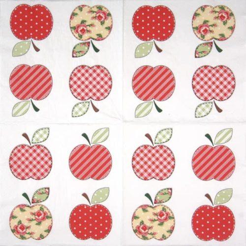Paper Napkin - Patchwork Apples