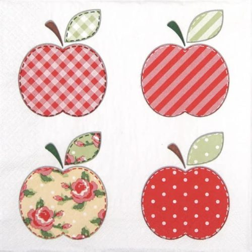Lunch Napkins (20) - Patchwork Apples