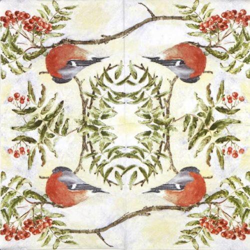 Paper Napkin - Mona Svärd: Gimpel