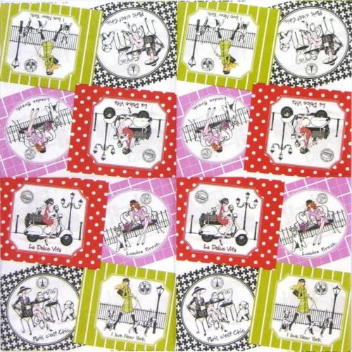 Paper Napkin - Assorted Chic