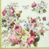 Paper Napkin - Blooming Opulence Cream
