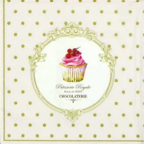 Lunch Napkins (20) - Dots & Cupcakes