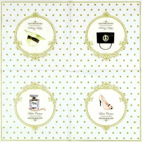Paper Napkin - Dots & Fashion