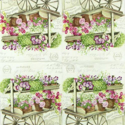 Paper Napkin - Les Fleurs