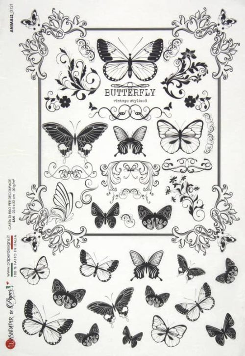 Rice Paper - Animals 0121