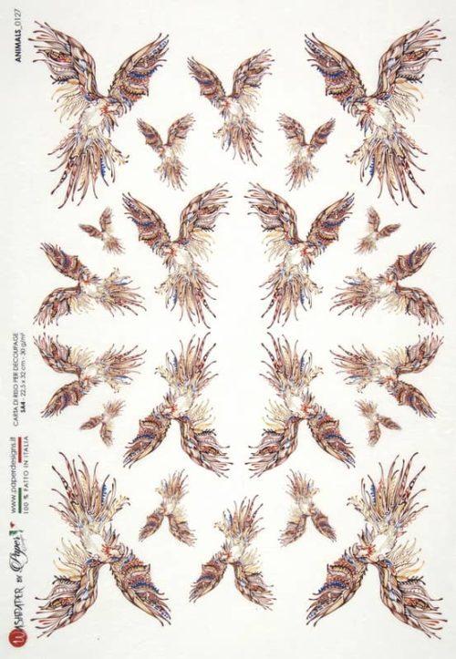 Rice Paper - Animals 0127