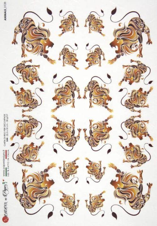 Rice Paper - Animals 0128