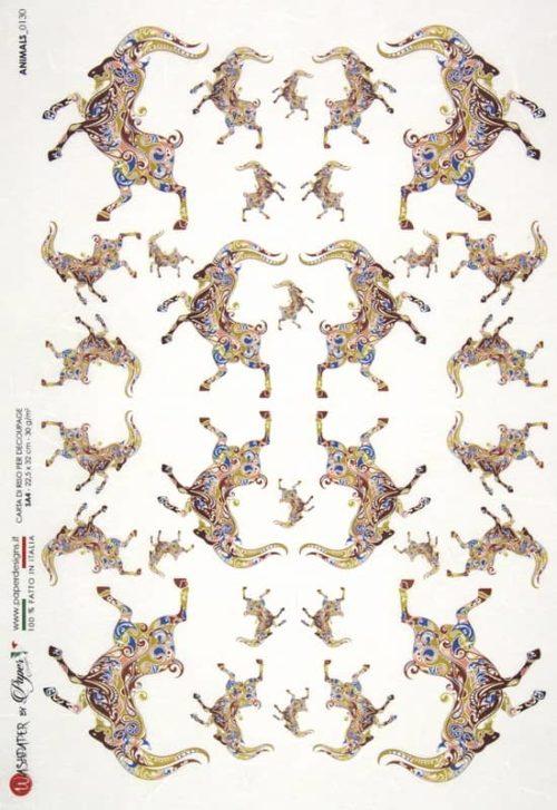 Rice Paper - Animals 0130