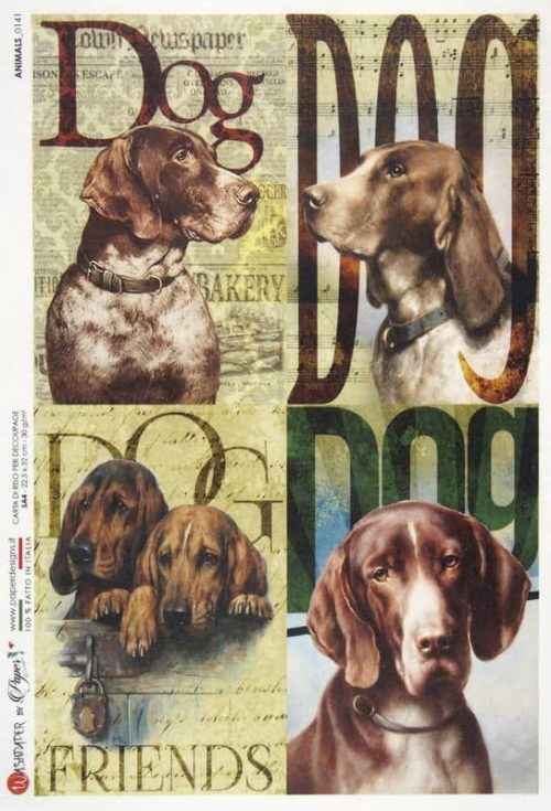 Rice Paper - Animals 0141
