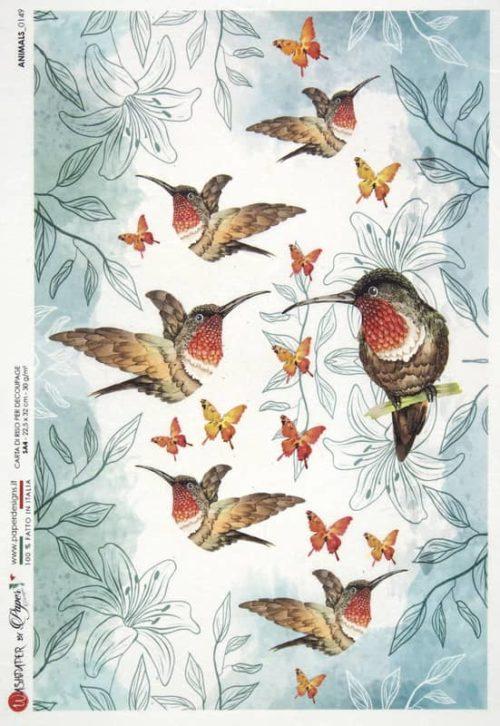 Rice Paper - Animals 0149