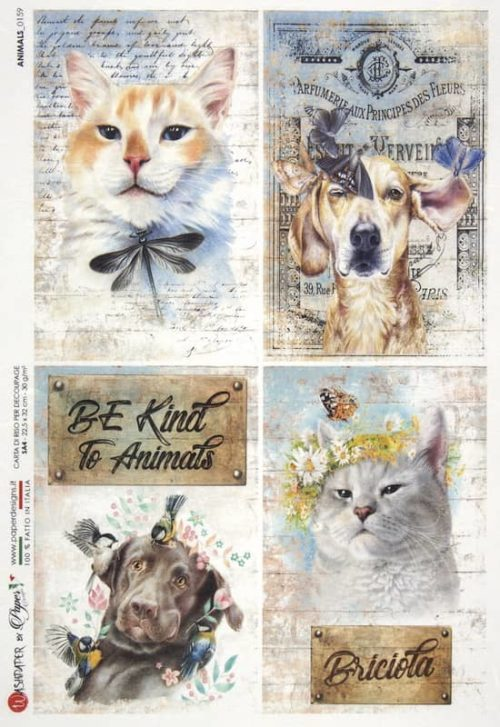 Rice Paper - Animals 0159